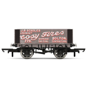 Hornby R6871 6 Plank Wagon Scholes & Sons
