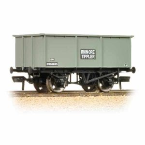 Bachmann 37-275F 27T Steel Tippler Wagon BR Grey