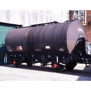 Bachmann 37-561 TTA 45T Class B Conical End Tank Wagon Black Weathered