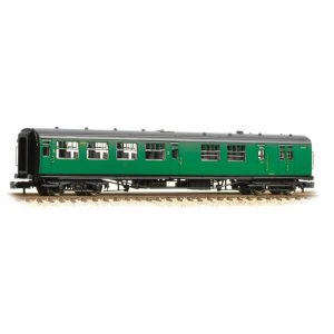 Graham Farish 374-432 Bulleid Brake Third Corridor Open BR (SR) Green