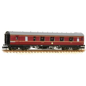 Graham Farish 374-830C Stanier Brake First LMS Crimson Lake