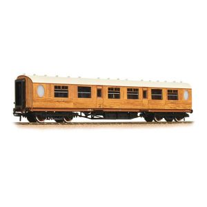 Graham Farish 376-225 LNER Thompson Corridor Composite LNER Teak
