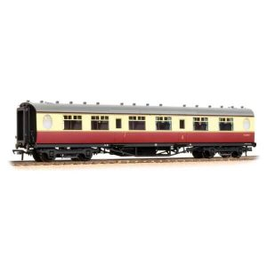Graham Farish 376-226 LNER Thompson Corridor Composite BR Crimson and Cream