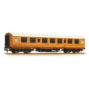 Graham Farish 376-250 LNER Thompson Corridor Third LNER Teak