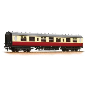 Graham Farish 376-251 LNER Thompson Corridor Third BR Crimson and Cream