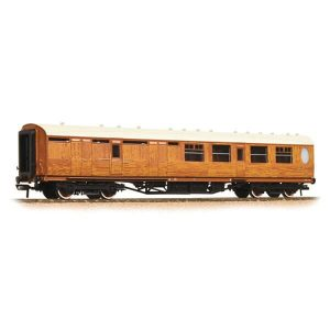 Graham Farish 376-275 LNER Thompson Corridor Brake Third LNER Teak