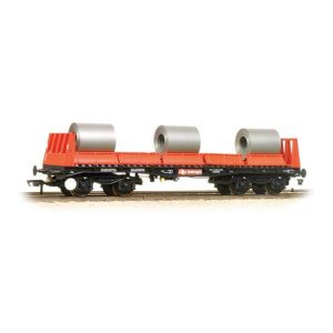 Bachmann 38-352B BAA Steel Carrier Wagon with Steel Coils BR Railfreight