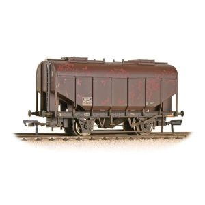 Bachmann 38-602A 21T Grain Hopper BR Bauxite Late Weathered