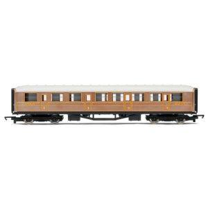 Hornby R4332 Gresley Composite LNER Teak RailRoad Range