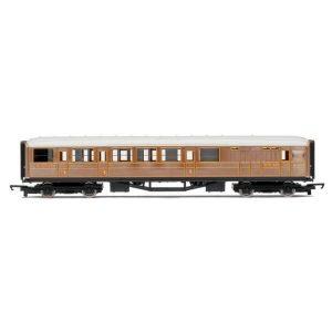 Hornby R4333 Gresley Composite Brake LNER Teak RailRoad Range