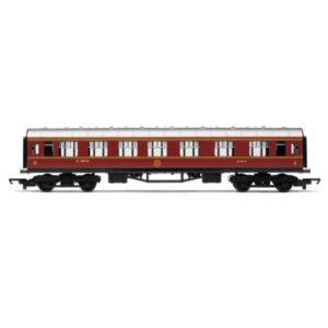 Hornby R4388 Stanier Corridor Composite LMS Crimson RailRoad Range