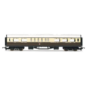 Hornby R4525 Collett Restaurant Car GWR Chocolate and Cream RailRoad Range