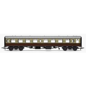 Hornby R4630 BR Mk1 TSO Tourist Second Open BR Chocolate and Cream RailRoad Range