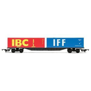 Hornby R6425 FFA Container Flat IBC and IFF Containers RailRoad Range