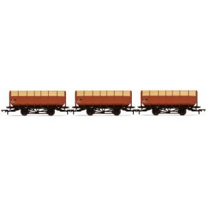 Hornby R6830 20T Coke Wagon 3 Pack BR Bauxite