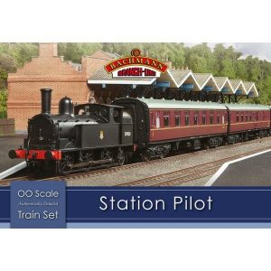 Bachmann 30-180 Station Pilot Train Set