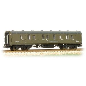 Graham Farish 374-041 BR Mk1 BG Full Brake Departmental Olive