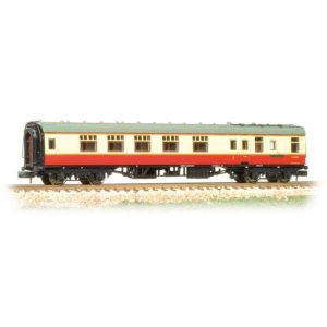 Graham Farish 374-081A BR Mk1 BCK Brake Corridor Composite BR Crimson and Cream