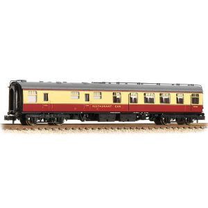 Graham Farish 374-120A BR Mk1 RU Restaurant Car BR Crimson and Cream