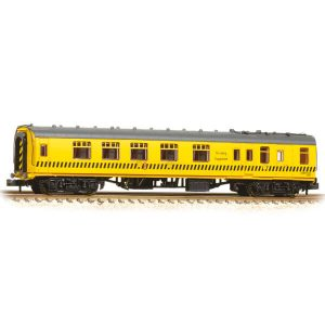 Graham Farish 374-191 BR Mk1 BSK Brake Second Corridor Departmental Yellow