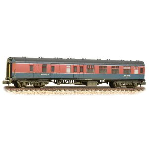 Graham Farish 374-195 BR Mk1 BSK Brake Second Corridor 'Laboratory 12' RTC Livery Weathered