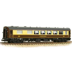Graham Farish 374-232 BR Mk1 SK Pullman 2nd Kitchen 'Car 343' Umber and Cream
