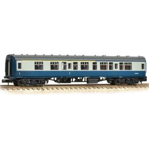 Graham Farish 374-258C BR Mk1 CK Corridor Composite BR Blue and Grey