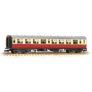 Graham Farish 374-451 Bulleid Third Open BR Crimson and Cream