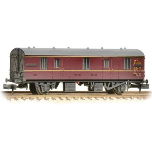 Graham Farish 374-641 BR Mk1 CCT Lined Maroon Weathered