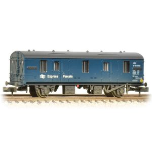 Graham Farish 374-642 BR Mk1 CCT BR Blue Express Parcels Weathered