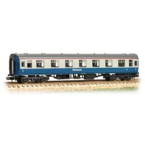 Graham Farish 374-811 BR Mk1 RFO Restaurant First Open BR Blue and Grey