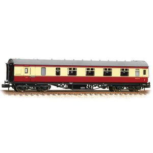 Graham Farish 374-831C Stanier Brake First BR Crimson and Cream