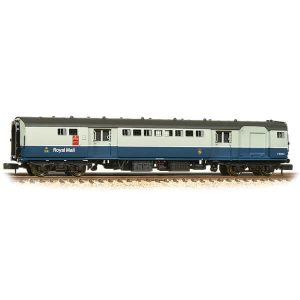 Graham Farish 374-902A BR Mk1 TPO Travelling Post Office BR Blue and Grey