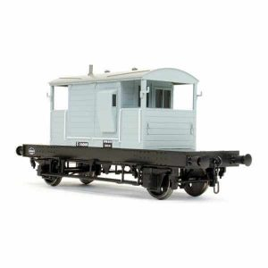 Dapol 7F-100-007 SR 25T Pill Box Brake Van BR Grey