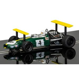 Scalextric C3702A Legends Brabham BT26A-3 No.4 Jacky Ickx Montjuich 1969 Ltd. Edition