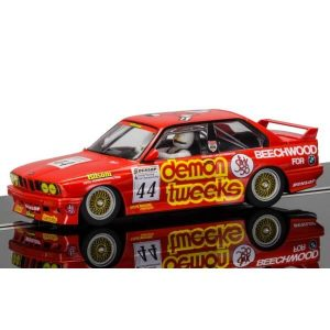 Scalextric C3739 BMW M3 E30 No.44 Roland Ratzenberger Brands Hatch 1988