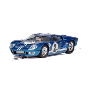 Scalextric C3916 Ford GT40 MKII No.2 Foyt / Raby 12 Hours Of Sebring 1967