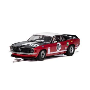 Scalextric C3926 Ford Mustang Boss 302 No.104 Frank Gardener British Saloon Car Championship 1970