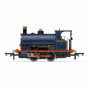 Hornby R3679 Peckett W4 Class No.74 Port of London Authority