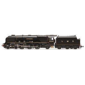 Hornby R3681 Princess Coronation 6241 'City of Edinburgh' LMS Black