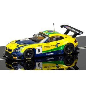 Scalextric C3721 BMW Z4 GT3 No.0 Bueno / Jimenez Brands Hatch 2015