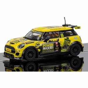 Scalextric C3742 BMW Mini Cooper F56 No.16 Harry Vaulkhard Mini Challenge 2015