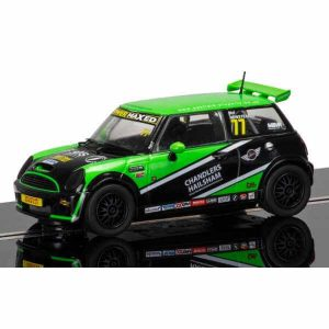 Scalextric C3743 BMW Mini Cooper S No.77 Neil Newstead Mini Challenge 2015
