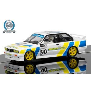 Scalextric C3829A Scalextric 60th Anniversary Collection – 1990s, BMW E30 M3 Ltd. Edition