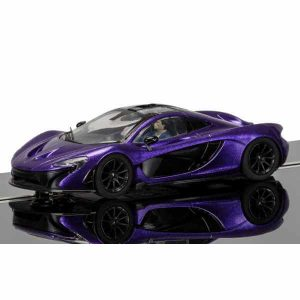 Scalextric C3842 McLaren P1 Purple
