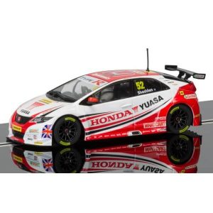Scalextric C3783 Honda Civic Type R No.52 Gordon Shedden BTCC 2015