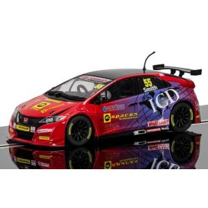 Scalextric C3860 Honda Civic Type R No.55 Jeff Smith BTCC 2016