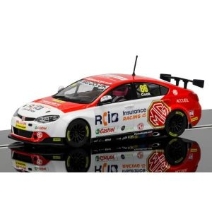 Scalextric C3863 MG6 No.66 Josh Cook BTCC 2016