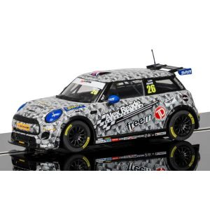 Scalextric C3873 BMW Mini Cooper F56 No.26 Luke Reade Mini Challenge 2016