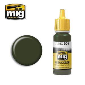 Mig Acrylic MIG001 RAL 6003 Olivgrun Opt.1